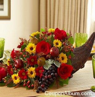 fresh flower cornucopia