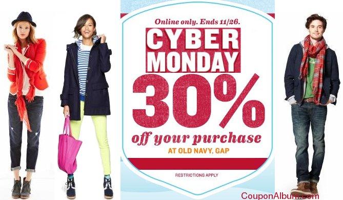 gap cyber monday sale
