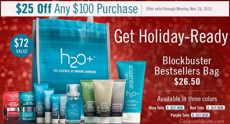 h2o plus black friday offer