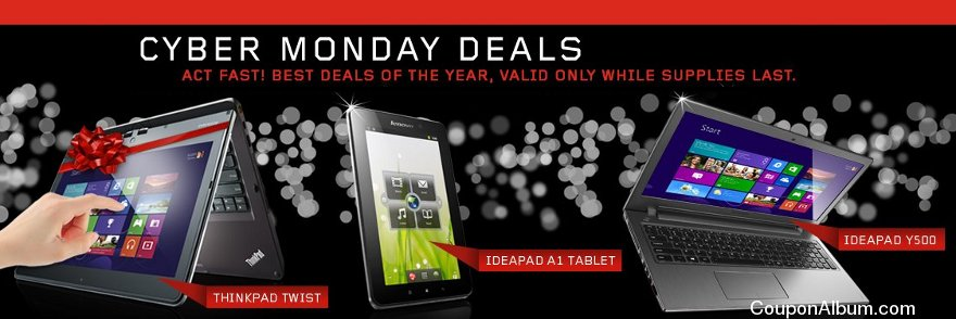 lenovo cyber monday deals
