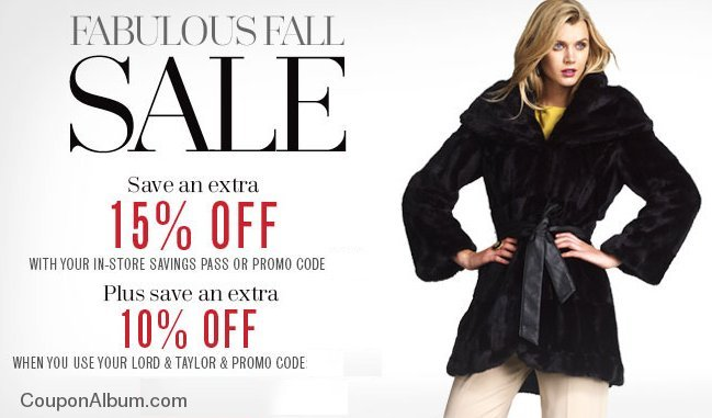 lord and taylor the november sale