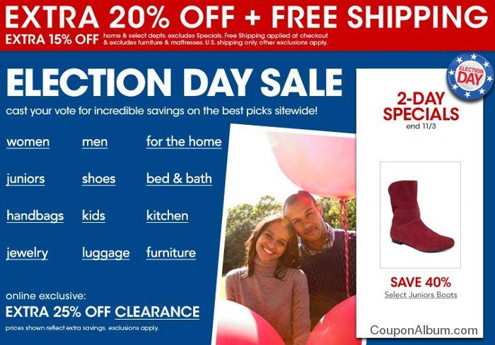 macys election day sale