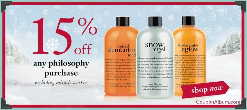 philosophy holiday savings
