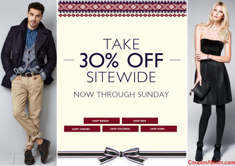 tommy hilfiger holiday savings