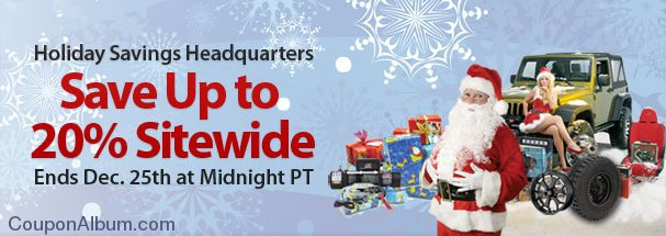 4 wheel parts holiday savings headquarters