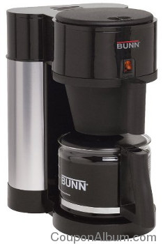 BUNN Black 10-Cup Coffee Maker