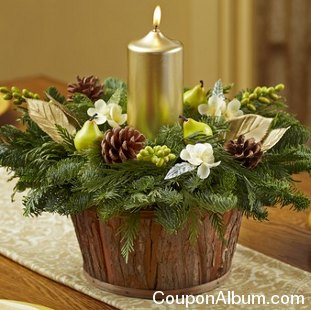 Brilliant Holiday Centerpiece