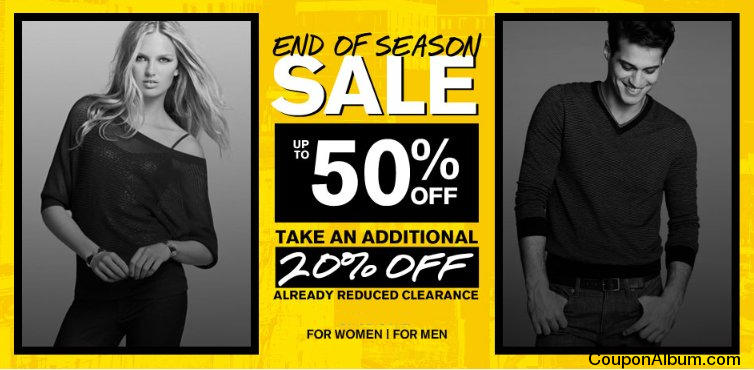 Express End of the Season Sale