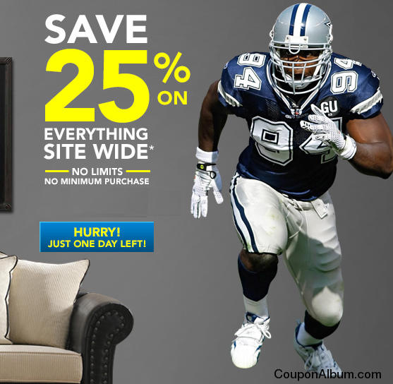 Fathead Holiday savings