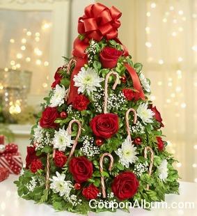 Holiday Flower Tree
