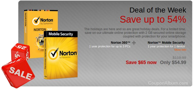 Norton 360 and Norton Mobile Security