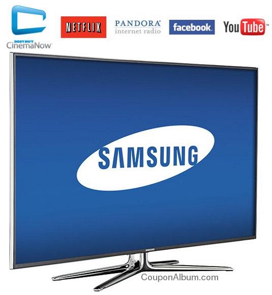 Samsung LED Smart 3D HDTV - UN50ES6900FXZA
