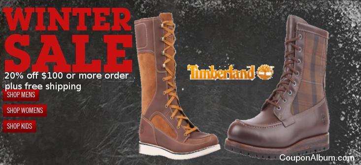 Timberland Winter Sale
