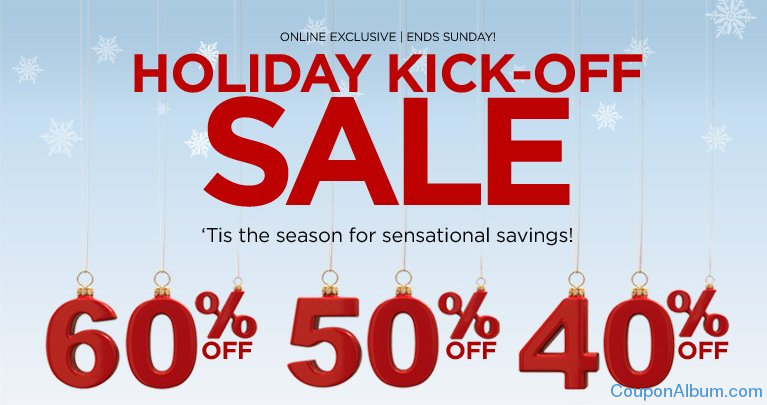 catherines holiday kick-off sale