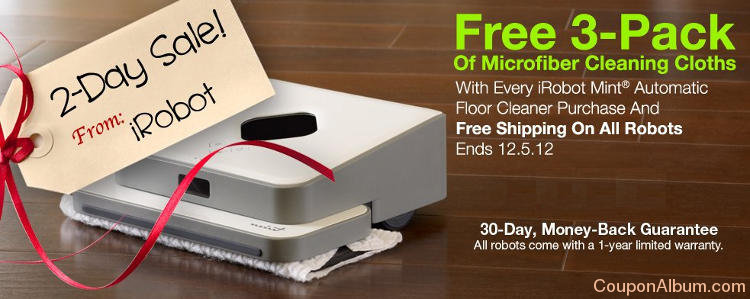 iRobot 2-Day Sale