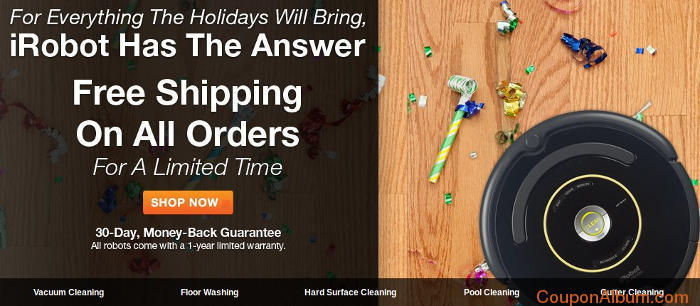 iRobot Free Shipping Hot Coupon