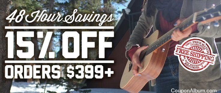 musicians friend 48 hours sale