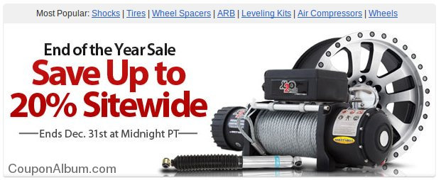 4wheelparts end of the year sale