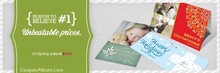 vistaprint holiday cards