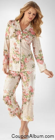 Embraceable Cool Nights Forever Ivory PJ Top
