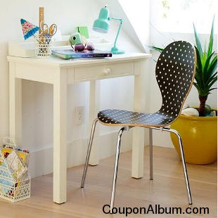 Small Space Solutions Desk + Hutch