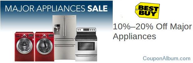 best buy major appliances sale