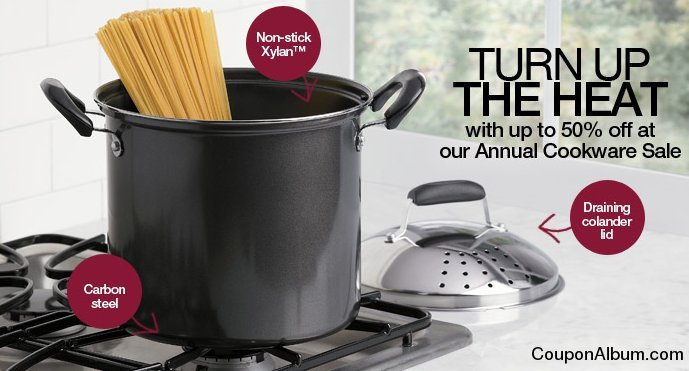 brylane home annual cookware sale