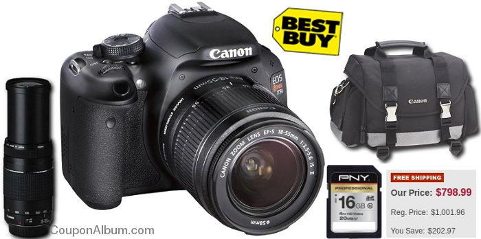 canon eos rebel t3i digital slr camera kit
