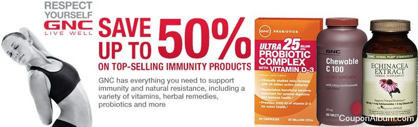 gnc immunity products