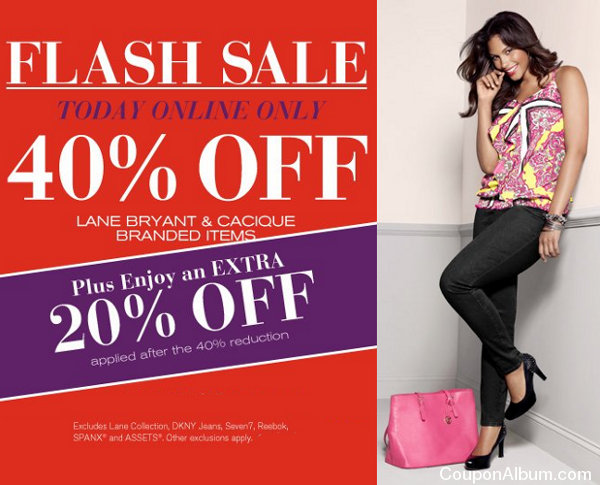 lane bryant flash sale