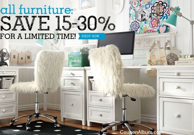 Pottery barn furniture coupon / Fire it up grill