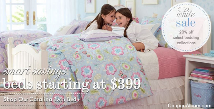 pottery barn kids white sale