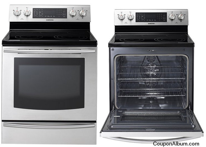 samsung freestanding electric range