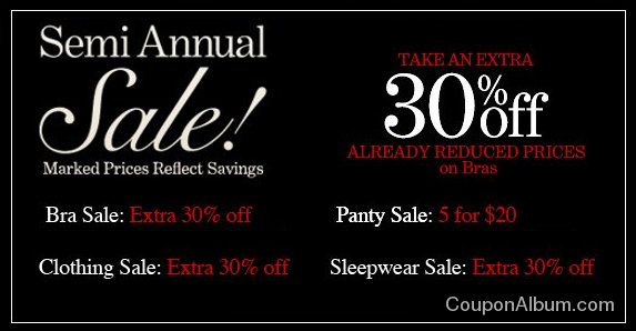 soma intimates semi-annual sale