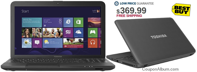 Toshiba satellite - Best Buy deal