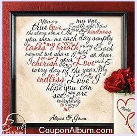 valentine heart canvas