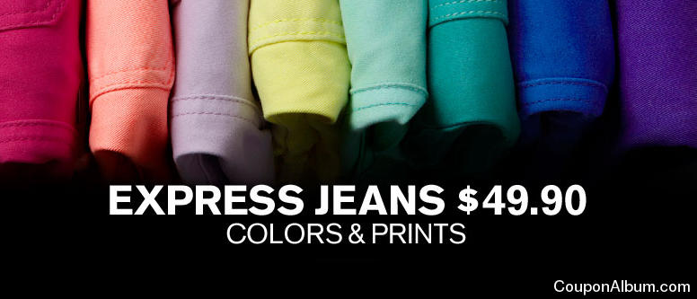 Express clothing store coupons