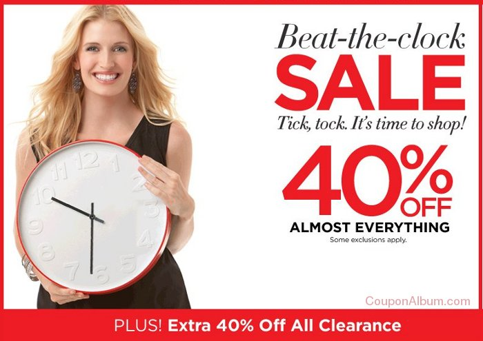 catherines beat-the-clock sale