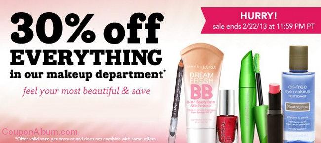 drugstore makeup offer