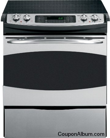 ge profile self cleaning convection electric cooking range