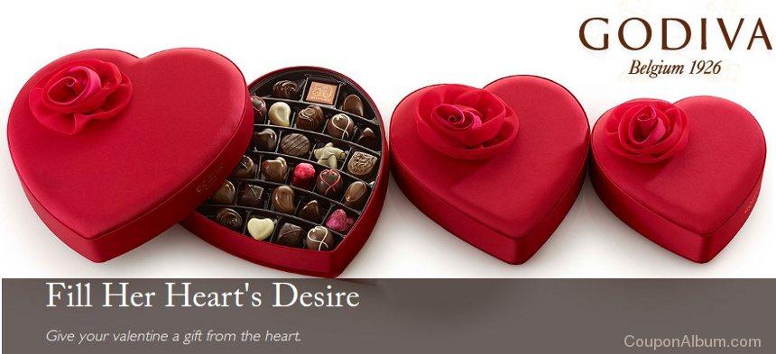 godiva chocolates valentine gift