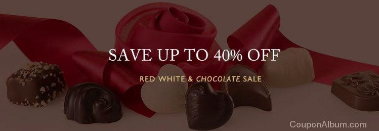 godiva red white-chocolate sale