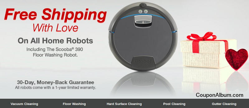 iRobot Free Shipping With LOVE