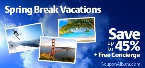 travelocity spring break vacations