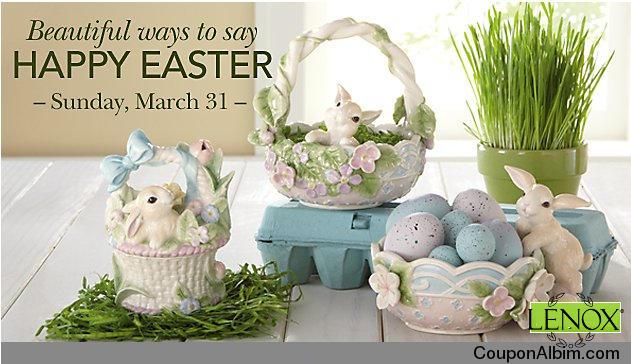 Lenox Happy Easter