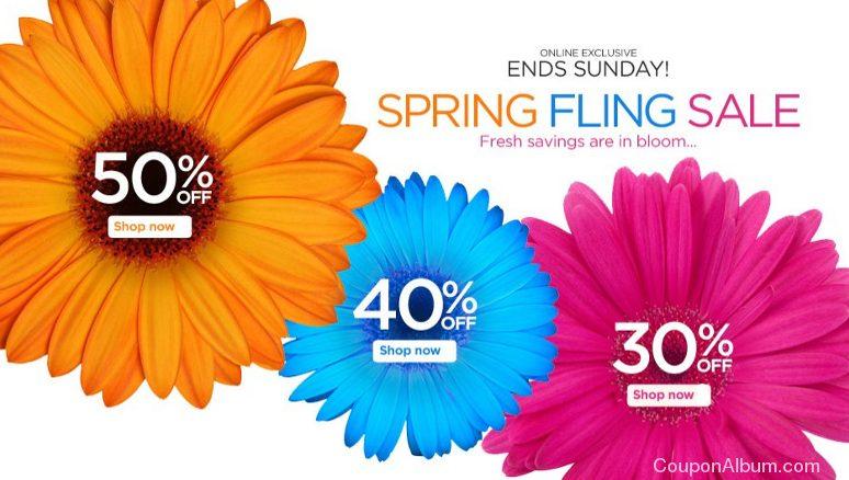 catherines spring fling sale