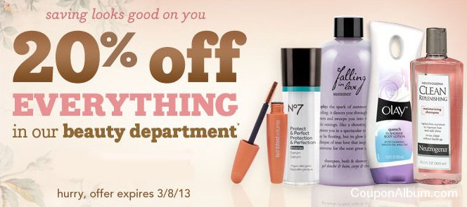 drugstore beauty offer