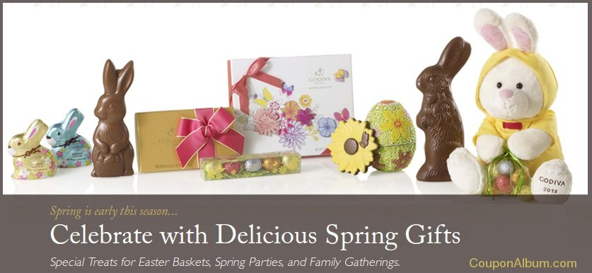godiva easter chocolate gifts