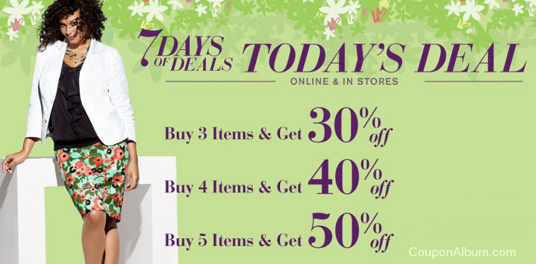 lane bryant 7 days of deals