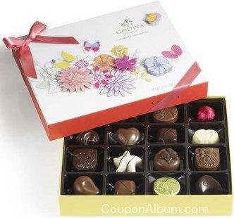 spring chocolate gift box